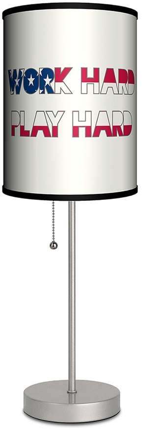 Lamp-In-A-Box Work Hard Play Hard Lamp