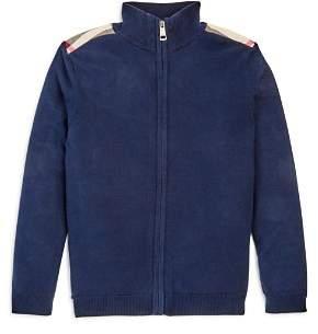 Burberry Boys' Aldo Front Zip Sweater - Little Kid