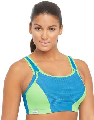 Glamorise Women's Plus Size Double Layer Custom Control Sport Bra