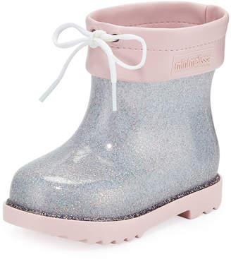 Mini Melissa Glittered Rainboots, Toddler