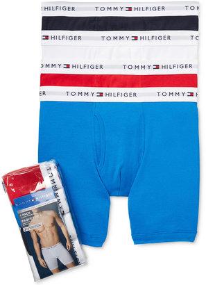 Tommy Hilfiger 3 pack+1 Bonus Pair Cotton Boxer Briefs - 09TE009 $42.50 thestylecure.com
