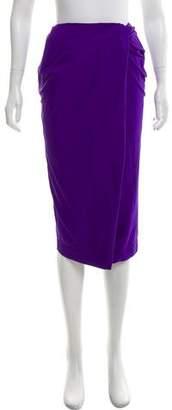Ter Et Bantine Draped Knee-Length Skirt w/ Tags