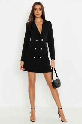 boohoo Tall Blazer Dress