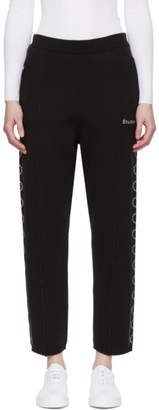 Timeout Etudes Black Time-Out Lounge Pants