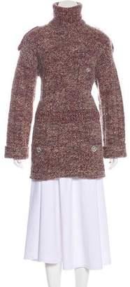 Chanel Alpaca-Blend Turtleneck Sweater