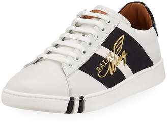 Bally Men's Wiley Wing Low-Top Sneakers