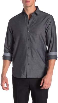Toscano Twill Regular Fit Sport Shirt