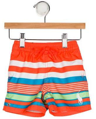 Ralph Lauren Boys' Striped Swim Shorts