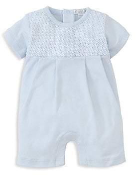 Kissy Kissy Baby Boy's Breeze Short Cotton Playsuit