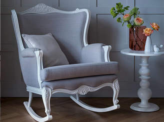 At Notonthehighstreet Bambizi Belle Hand Carved Rocking Chair From Lilies And Lions