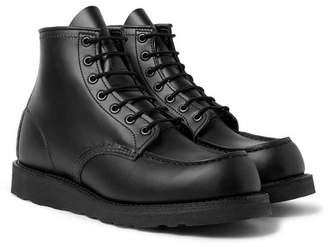 Red Wing Shoes 8137 Moc Leather Boots - Men - Black