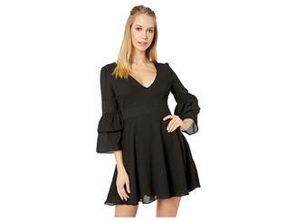 BB Dakota Always Classy Ruffle Sleeve Dress