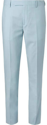 Paul Smith Light-Blue Soho Slim-Fit Wool And Mohair-Blend Suit Trousers