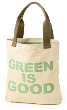 Green Is Good Tote