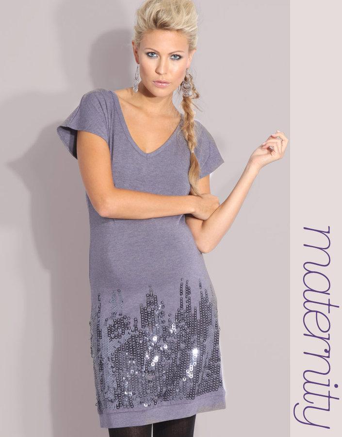 Mama Licious Mama.Licious Embellished Jersey Dress