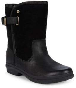 UGG Oren Leather Moto Boots