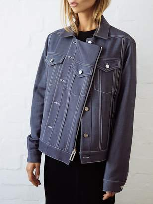 Dion Lee Tailored Denim Biker Jacket