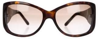 Salvatore Ferragamo Embellished Gradient Sunglasses