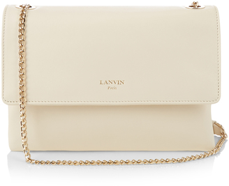 LANVIN Sugar mini leather cross-body bag $1,495 thestylecure.com