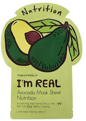Tony Moly Tonymoly I'm Real Avocado Mask Sheet Nutrition