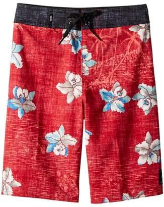 Vans Kids Hawaii Floral Boardshorts Boy's Swimwear