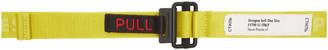 Heron Preston Green Tiny Tape Belt
