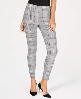 INC International Concepts I.n.c. Plaid Skinny Pants