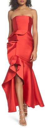 Fame & Partners Sellers High/Low Mermaid Gown