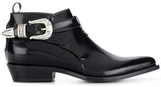 Sonora chunky heeled boots