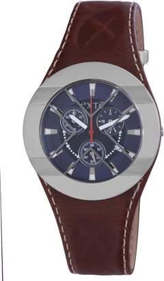 Exte Women's EX.4029M/09 Brown Calfskin Band watch.