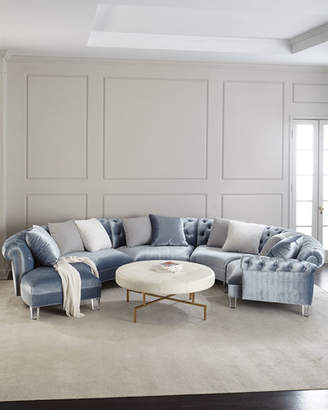 at Neiman Marcus · Haute House Varianne Curved Sectional Sofa