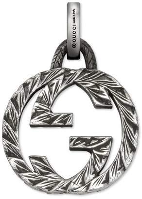 Gucci Interlocking G charm in silver
