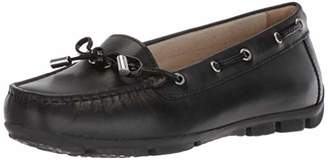 Geox Women's Marva 6 Driving Moc Loafer Style Black