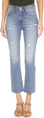 Levi's Kick Flare Jeans $148 thestylecure.com