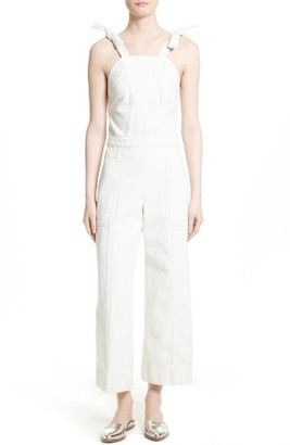 Women's Rebecca Taylor Denim Jumpsuit $475 thestylecure.com