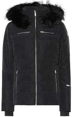 Fusalp Izia fur-trimmed technical ski jacket