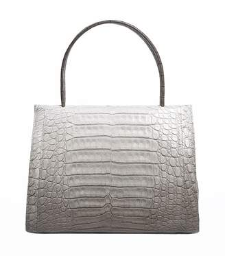 Nancy Gonzalez Medium Crocodile Wallis Tote Bag