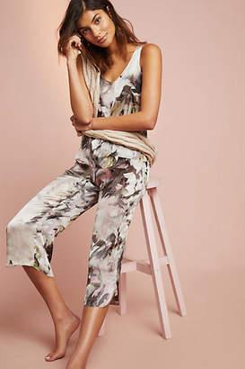 Samantha Chang Brushstroke Silk Sleep Pants