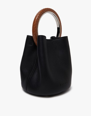 Shoulder Bag in Black/Nougat/Hazelnut $2,080 thestylecure.com