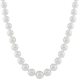 Splendid Pearls 14K 9-12Mm South Sea Pearl Necklace