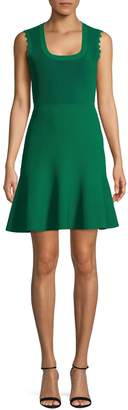 Diane von Furstenberg Ribbed A-Line Dress
