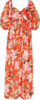 Mara Hoffman Violet Floral-Print Jersey Maxi Dress