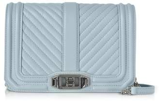 Rebecca Minkoff Chevron Quilted Leather Small Love Crossbody