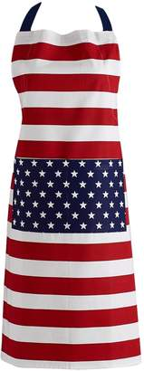 Design Imports Stars & Stripes Printed Cotton Apron