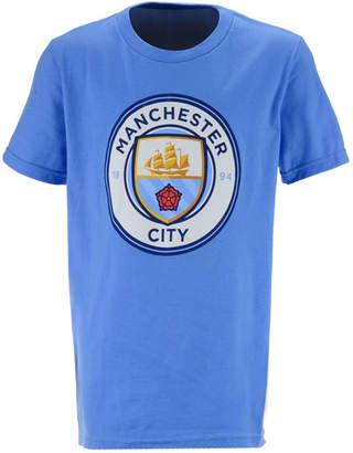 Outerstuff' Manchester City Club Team Primary Logo T-Shirt, Big Boys (8-20)