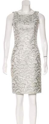 Dolce & Gabbana Metallic Jacquard Dress