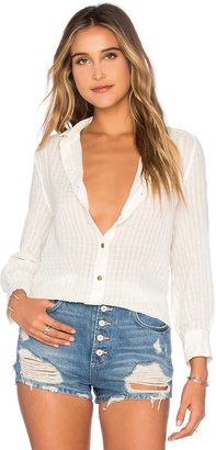 Current/Elliott The Fawn Button Up $198 thestylecure.com