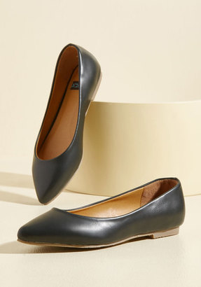 Automatic Admiration Vegan Flat in 6 $34.99 thestylecure.com