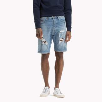 Tommy Hilfiger Destroyed Jean Short