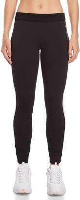 Blanc Noir Black Skinny Sport Pants